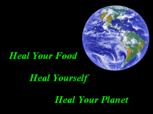 heal food, self, planet